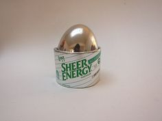 Sheer Energy L'eggs, Futuristic Pantyhose Container from the 1980s