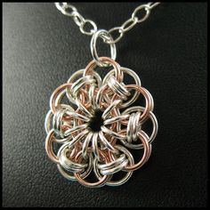 Orbis Chainmaille Pendant | Flickr - Photo Sharing!