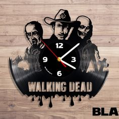 wd-black Old Records, Vinyl Records, Record Wall, Lps, Wonderful Things, The Walking Dead, Wood Art, Creepy, Tower