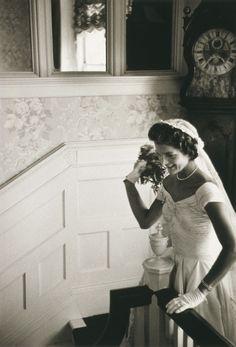 Jackie Kennedy on her wedding daySeptember 12, 1953