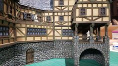 Medieval Inn - 28mm Building - Tabletop - Terrain - Diorama - Wargaming