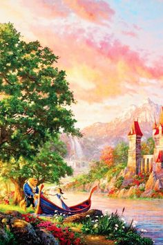 Elsa frozen, Hd... Thomas Kinkade Disney Paintings Frozen