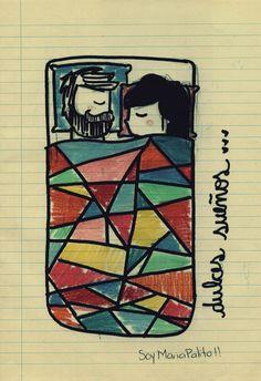 Mr. Dabo + María Palito by Maria Palito, via Behance