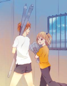 Ok I kinda ship them but when I remember Kageyama I would just turn my ship onto him