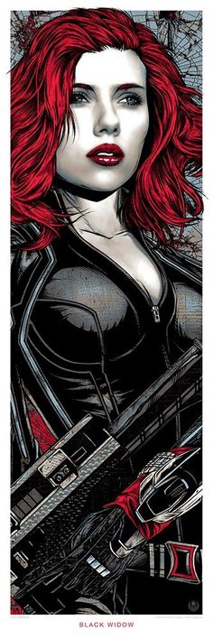"""Avengers - Age of Ultron - Rhys Cooper - ''Black Widow'' ---- Hero Complex Gallery presents """"Marvel's Avengers: Age of Ultron Art Showcase"""" (2015-05) - visit to grab an unforgettable cool 3D Super Hero T-Shirt!"""