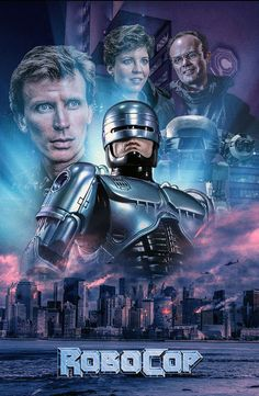 Robocop by Colm Geoghegan - Home of the Alternative Movie Poster -AMP-