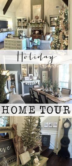 Welcome to my holiday home tour.  See all of my Christmas decor and get inspired to decorate your own home!  Thanks for stopping by!