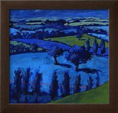 Blue Landscape, 2009 Giclee Print by Paul Powis at Art.com
