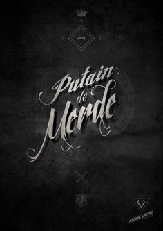 As if merde wasn't enough. French Words, French Quotes, Typography Letters, Lettering, Blabla, Words Quotes, Sayings, Typo Logo, Quote Citation