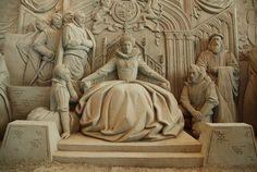 砂の美術館(鳥取) The Sand Museum, Tottori, Japan Tottori, Snow Sculptures, Sculpture Art, Ephemeral Art, Sand Play, Ice Art, Snow Art, Nature Artists, Classical Art