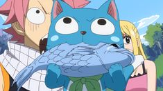Anime Screencap and Image For Fairy Tail Awesome Anime, Anime Love, Fairy Tail Happy, Anime Fairy, Anime Shows, Me Me Me Anime, Fairy Tales, Pikachu, Animation