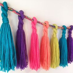 Available now, Hodge Podge tassel garlands! The perfect addition to any room as everyday home decor or a fun addition to your party or event. Go check them out!  www.etsy.com/shop/katieshodgepodge  #whatcanimakeforyou #smallbusiness #etsy #handmade #madewithlove #crochet #etsyelite #scarves #plugs #kitchen #yarn #jewelry #shoplocal #buylocal #toronto #durham #favehandmade #glitter #colour #supportsmallbusiness #DIY #crafts #crafting #crafty #hodgepodge #etsyprepromo