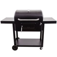 The Char-Broil Charcoal 780 features a patented removable charcoal tray, which makes for simple management of cooking temperatures. Combined with a crank-adjustable height fire pan, this charcoal gril