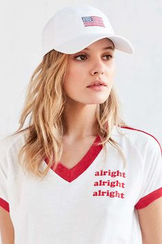 Harding Lane - Embroidered Baseball Hat | Urban Outfitters