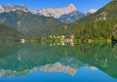 Lago di Barcis, one of my very favorite places in the whole world!