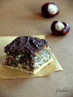 Lubię...: Ciasto z makiem i jabłkami. Wilgotny makowiec.