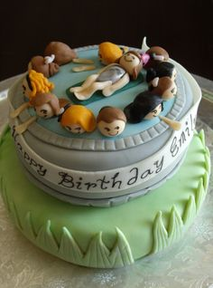 Swim Party Cake~ I WANT!!!! Next birthday!