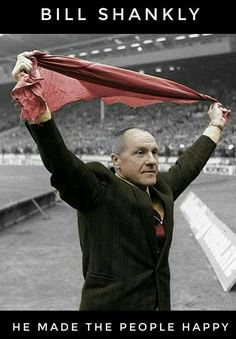 Bill shankly Liverpool legend ,carrying on your Stella club building records,🏆🏆🏆🏆🏆🏆onwards . Liverpool Legends, Fc Liverpool, Liverpool Football Club, Football Memorabilia, Football Stadiums, College Football, Juventus Fc, Zinedine Zidane, Liverpool Fc Managers