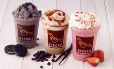 insomnia coffee company - Google Search Cupcakes, Dunkin Donuts Coffee, Coffee Company, Insomnia, Coffee Cups, Google Search, Food, Pies, Essen