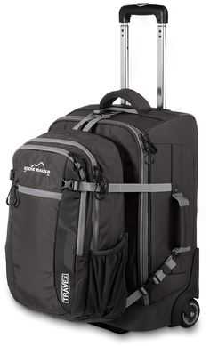 Travex™ Travel Rolling System | A compact roller and backpack all in one. Remove the backpack to use separately, or keep it attached as an additional compartment.