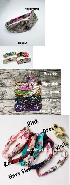 Hair Accessories 45220: Hot!Hair Bands Wraps Blooms Headbands Cross Bandage Turban Hairbands Summer -> BUY IT NOW ONLY: $43.5 on eBay!