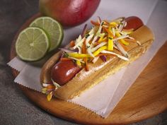 The Craziest Major League Baseball Hot Dogs of 2012.  This one is the Polock Johnny's for the Baltimore Orioles.