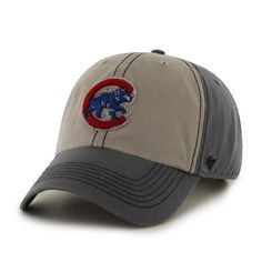 d68baeb4289 Chicago Cubs Undertow Clean Up Adjustable Cap by  47 at  SportsWorldChicago.com Chicago Cubs