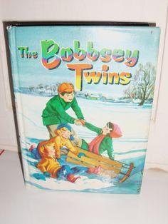 Bobbsey Twins books set of five. Numbers 6, 10, 15, 16, and 55.