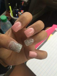 Cute Nails, Pretty Nails, Nail Desings, Valentine Nail Art, Beauty Full, Pink Nails, Claws, Nail Ideas, Acrylic Nails