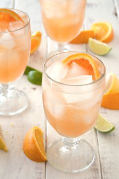 Sparkling Orange Sangria: http://www.stylemepretty.com/living/2015/06/20/22-game-changing-sangria-recipes/