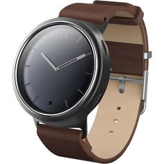 Misfit - Phase Smartwatch 41mm Brown And Gray - Brown and Gray