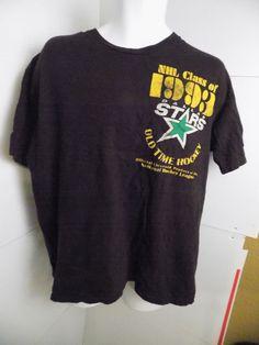 Old Time Hockey Dallas Stars Class of 1993 T Shirt Size XL  #NHL #DallasStars