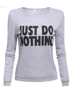 sweatshirts tops 2016 Grey letter print plus size couple clothing casual new costumes spring pullover sweatshirt