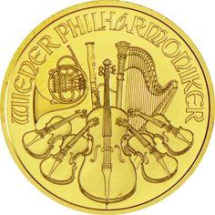Philharmoniker 1/2 Unze Gold 2015,  9999/10000