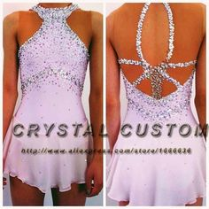 Girls Figure Skating Dresses For Competition Fashion New Brand Ice Skating Dresses Kids DR3454(China (Mainland))