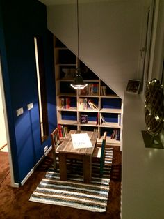 Book shelves And reading corner / boekenkast en leeshoekje