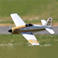 Rarebear Funfighter 620 mm de envergadura de alta velocidad pnp avión RC que compite con EPO