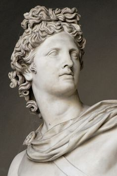 Apollo; Greek god of light and the sun, medicine and disease, music, archery and prophesy