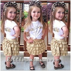 how i look? Girl Fashion Style, Little Girl Fashion, Toddler Fashion, Kids Fashion, School Fashion, Fashion Styles, Little Girl Outfits, Cute Outfits For Kids, Preppy Baby Boy