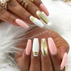 Winter nail designs are the best way to start the winter season properly! Acrylic, gel or natural nails covered with polishes of different colors and shades and decorated with various designs will make your winter more bright and fun!
