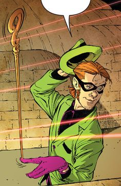 The Riddler in Batman #33. For a second, I thought this was Gabriel from Supernatural as the Riddler