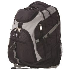 High Sierra Laptop Backpack - Mercury / Silver : Backpacks - Best Buy Canada I want this because books need a durable shell Backpack Online, Laptop Backpack, Silver Backpacks, 17 Laptop, School Items, New Laptops, Homework, Notebooks, Mercury