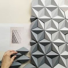 London was great as usual :) We enjoyed introducing our work to all visitors and now is time to catch up with some orders!  Remember: folding is great! :) @kingkongdesign #moduuli #paperdesign #paperart #paperartist #cansonpaper #papercraft #customdesign #bespokeproject #bespokedesign #uniquedesign #homedecor #wallcovering #wallpanel #walldecor #wallart #geometricwallart #geometry #greypaper #greywalls #whitewalls #whitepaper #folding #origamiart #origamiartist #origamidecor #acousticpanels…