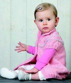 Adriafil Pattern: Dress in Dolcezza Baby