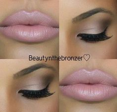 Pink #makeup #style
