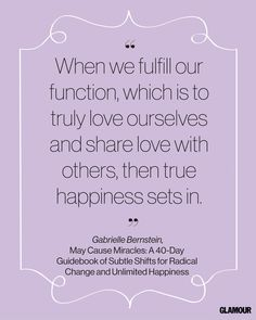 Happiness Quote From Gabrielle Bernstein
