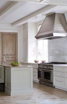 White Marble Kitchen Backsplash