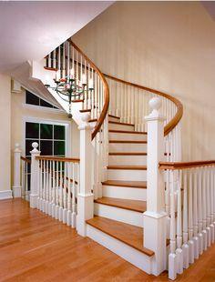 Eberlain Design - Interior Designer - Philadelphia - Traditional - Staircase - Wood - White - Neutral