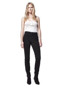 Wang 001 Slim Fit Jeans in Black