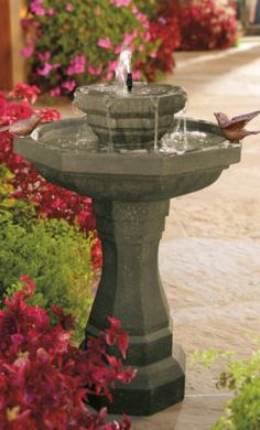 Abbey Solar Fountain.